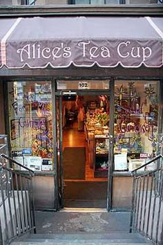 Alice's Tea Cup in NYC - OH MY - all the times I have been to NY and I have…