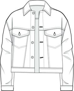 Drawing clothes sketches products ideas for 2019 Fashion Sketch Template, Fashion Design Template, Fashion Templates, Flat Drawings, Flat Sketches, Technical Drawings, Fashion Design Drawings, Fashion Sketches, Drawing Fashion