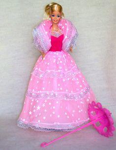 Dream Glow Barbie (my first Barbie-doll)