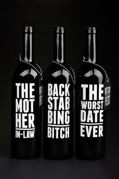 Creative Packaging, Wine, Bitch, Fest, and Product image ideas & inspiration on Designspiration Design Package, Label Design, Web Design, Graphic Design, Design Trends, Wine Packaging, Packaging Design, Coffee Packaging, Product Packaging