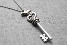 Birdie/Key pendant