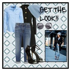 """""""Get the LOOK!!"""" by charmedgirl123 ❤ liked on Polyvore featuring Miu Miu, New Look, Alexander Wang, Phase 3 and Wood Wood"""