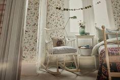 Torkkupeiton talossa: makuuhuone