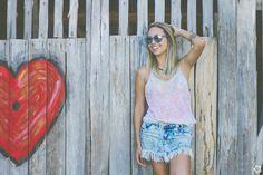 Girl, Beach, Heart, Floripa