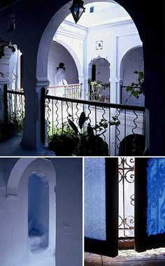 Riad in Chefchaouen / Photos by Jordi Canosa for the style files, via Flickr
