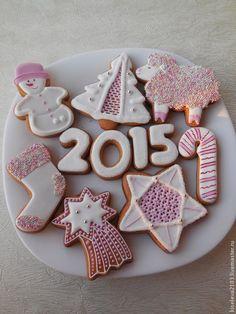 Пряники имбирные на Новый год и рождество .Кулинарный сувенир . - Пряники имбирные