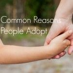 Common Reasons People Adopt
