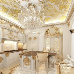 Modern Luxury Kitchens For A Grand Kitchen Luxury Decor, Luxury Interior, Home Interior Design, Luxury Kitchen Design, Luxury Kitchens, Mansion Interior, Interior Exterior, Classical Kitchen, Shabby Chic Kitchen