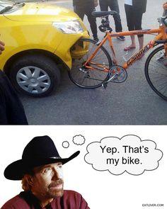 Chuck's bike
