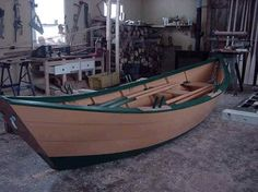 plywood dory | Dory Boat Plans Building your own 16' wooden dory boat is easier…