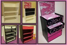 Foamboard, Scrapbook paper, Mod Podge, Bling, & GLITTER baaaby! My make-up organizer for beauty samples & more! Thank you for packaging those deluxe beauty samples in these re-usable boxes BeautyArmy.com
