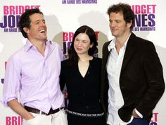 So funny. Via Jezebel: Finally, That Third Bridget Jones Book You Weren't Asking For Hugh Grant, Bridget Jones Books, Cathy Cartoon, Something Awful, Renee Zellweger, Colin Firth, British Boys, Back In The Day, Actors & Actresses