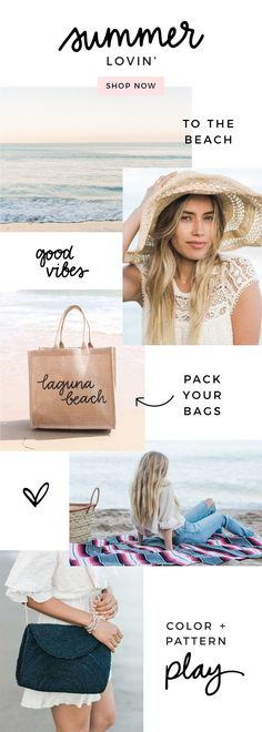 Catch some rays + shop sunny day products