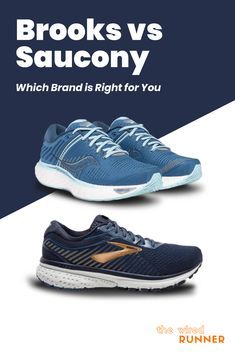Brooks vs Saucony – Which Brand is Right for You Brooks Running Shoes, Running Shoe Brands, Best Running Shoes, Running Gear, Saucony Shoes, Shoe Company, Marathon Running, Trail Shoes, Workout Gear
