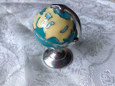 Monet Keepsake Trinket Box Globe with Charm | eBay