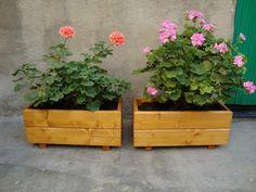 JARDINERAS DE MADERA: JARDINERAS MINI Pergola, Planter Pots, Diy, Gardens, Home, Wood Planter Box, Wooden Planter Boxes, Home Decorations, Terrace