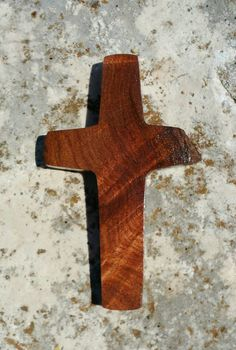 Handmade wood cross magnet made from Texas honey mesquite, Christian decor, kitchen decor by JackRabbitFlats on Etsy Mesquite Wood, Texas, Christian Decor, Tung Oil, Wood Crosses, Neodymium Magnets, Over The Years, Etsy Store, Kitchen Decor