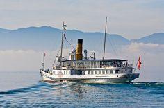 Dampfschiff Savoie (1914) auf dem Genfer See