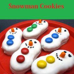 Snowman Cookies Recipes