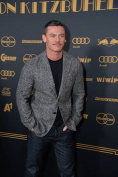 "mrlukegorgeous-lila: "" This man is so sexyyyyyyy!!! Luke Evans attends at ""Kitz Race Night"" on Saturday 23/1/2016 in Kitzbuehel via KURIER.at Via @monitroll65 twitter acc. """