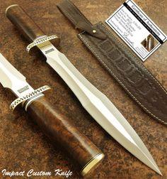 Влияние-столовые приборы-редкая-таможня-Д2-большой-боевой-кинжал-нож-Берл деревянной ручкой