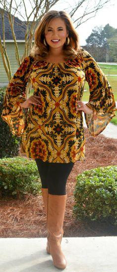 Perfectly Priscilla Boutique - Gypsy Rose Top, $40.00 (http://www.perfectlypriscilla.com/gypsy-rose-top/)