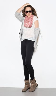 Skinny Jean Outfit - Aeropostale @Aéropostale