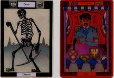 Chalice Tarot Cards - Death and the Emperor