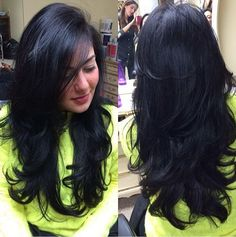 >>>Cheap Sale OFF! >>>Visit>> Hairstyles for Long Thick Layered Hair Haircuts For Long Hair With Layers, Long Layered Haircuts, Long Hair Cuts, Layers On Long Hair, Long Thick Layered Hair, Medium Hair Styles, Curly Hair Styles, Hair Styler, Hair Inspiration