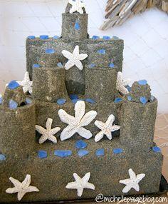 michelle paige: Make a Sand Castle Centerpiece