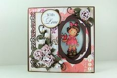 Splitcoaststampers - Peek-a-Boo Card