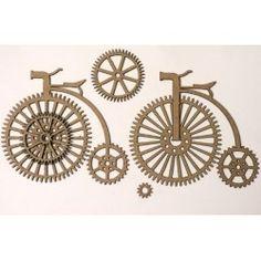 Steampunk Antique Bikes