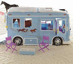 Doll Breyer Horse Trailer for the horse loving kiddos #PotteryBarnKids