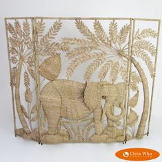 Elephant Screen by Mario Lopez Torres | Circa Who