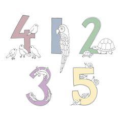 Värinauttien numerot!