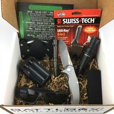 Shtf Mystery Survival Gear Monthly Subscription Box Budk