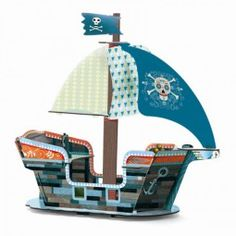 Pop to Play Piratenschiff, Djeco
