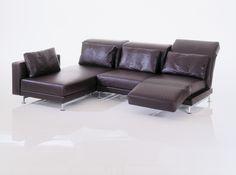 Polstermöbel Färben modernes sofa leder schwarz metallkufen bei möbel morschett
