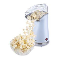 Air Popcorn Maker Non Slip Feet Solid White Colored Finish Portable Easy Use New