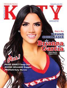 Oct/Nov 16 Texans Cheerleader Brianna Garcia