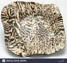Ceramic hand made studio art coil mixed agate clay bowl dish plate Stock Photo, Royalty Free Image: 3403415 - Alamy