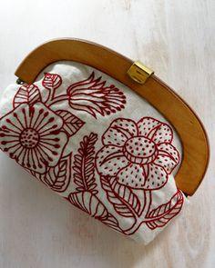 wood pouch- Yumiko Higuchi