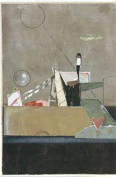 Collage. A Man with a View.  Jac Wegren