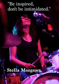 Stella Mozgawa, drummer of Warpaint.    #stellamozgawa #warpaint