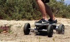 Go offroad on Altered's V3 Dual-Sport electric skateboard