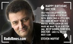 Happy Birthday to Who! The Doctors, companions, stars and writers send 10th anniversary messages