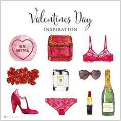 valentine's day list, by the lust list