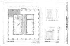 Details about Ashland, an Antebellum Plantation, house plans