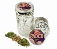 Pink Weed Pattern Grinder and Wire top Glass Jar Combo! 4 Part Aluminum Grinder for Herbs Spice Herbal trippy logo w/ 6 lit Labels! by Swagstr on Etsy Pipes And Bongs, Weed Pipes, Stash Jars, Jar Labels, W 6, Herbalism, Girly, Herbs, Glass