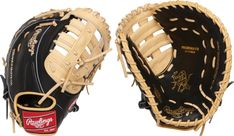 / Black for Left Handed Thrower. / 12/ inch/  Rawlings Guante Guante de Oro Gamer /